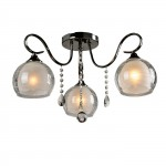 Люстра Idlamp 877/3PF-Darkchrome Merinella