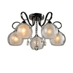 Люстра Idlamp 877/5PF-Darkchrome Merinella