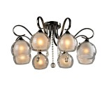 Люстра Idlamp 877/8PF-Darkchrome Merinella
