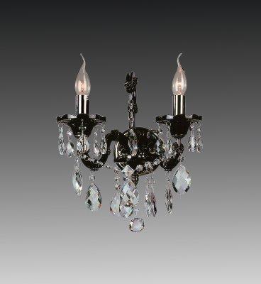 Светильник бра Lightstar 879627Хрустальные<br><br><br>S освещ. до, м2: 5<br>Тип цоколя: E14<br>Цвет арматуры: серебристый<br>Количество ламп: 2<br>Размеры: W 380 H 410 L 250<br>MAX мощность ламп, Вт: 40