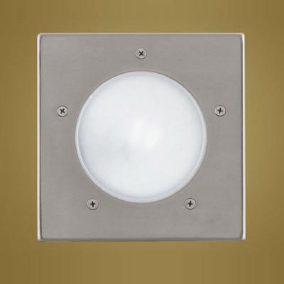 Eglo Riga 88063 светильник уличныйГрунтовые<br>Новинка 2008. Врезные парковые светильники EGLO ZIMBA (IP44) и врезные энергосберегающие парковые светильники EGLO RIGA 3 (IP67) — светильники для наружного освещения. Степень защиты IP67 — полная защита от пыли (пыленепроницаемый, dust-tight), защита от проникновения воды при погружении (waterproof)  степень защиты IP44 — защита от твердых тел gt  1 мм, защита от капель и брызг. Плафоны светильников выполнены из высококачественного матированного стекла  арматура светильников 1, 2 — из алюминия, арматура светильников 3, 4, 5, 6 — из нержавеющей стали, подземная часть — из пластика. Светильники 1, 2 рассчитаны на обычную лампу E27 60W max и E27 100W max, светильники 3, 4 — на энергосберегающую компактную люминесцентную лампу PL 15W E27 и PL 11W E14. Светильники 5, 6 имеют светодиодный модуль LED GU10 1,28W. Цвет ZIMBA (IP44): 1, 2 — серебристый (silver)  цвет RIGA 3 (IP67): 3, 4, 5, 6 — нержавеющая сталь (stainless steel).<br><br>Тип товара: светильник уличный<br>Скидка, %: 38<br>Ширина, мм: 170<br>Длина, мм: 170<br>Высота, мм: 260