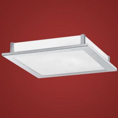 Eglo AuRiga 88092 СветильникКвадратные<br>Настенно потолочный светильник Eglo (Эгло) 88092 подходит как для установки в вертикальном положении - на стены, так и для установки в горизонтальном - на потолок. Для установки настенно потолочных светильников на натяжной потолок необходимо использовать светодиодные лампы LED, которые экономнее ламп Ильича (накаливания) в 10 раз, выделяют мало тепла и не дадут расплавиться Вашему потолку.<br><br>S освещ. до, м2: 2<br>Тип лампы: люминесцентная<br>Тип цоколя: GR8<br>Количество ламп: 1<br>Ширина, мм: 385<br>MAX мощность ламп, Вт: 28<br>Длина, мм: 385<br>Расстояние от стены, мм: 65<br>Высота, мм: 65<br>Цвет арматуры: серебристый