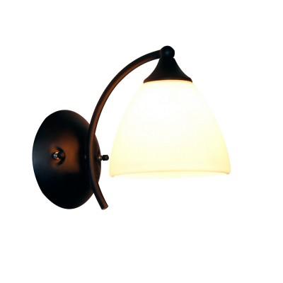 Светильник настенный бра Idlamp 881/1A-Argentoscuro ElettraСовременные<br><br><br>Крепление: Настенные<br>Тип лампы: Накаливания / энергосбережения / светодиодная<br>Тип цоколя: E27<br>Цвет арматуры: черный<br>Количество ламп: 1<br>Ширина, мм: 225<br>Длина, мм: 135<br>Высота, мм: 180<br>MAX мощность ламп, Вт: 60