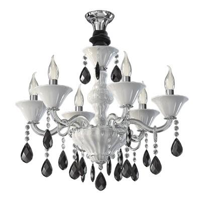 Купить Люстра подвесная Lightstar 881060 Bianca, Италия