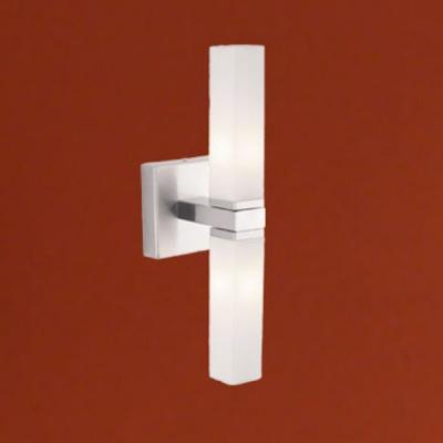 Eglo PALERMO 88284 светильник для ванной комнаты и зеркалСовременные<br>Австрийское качество модели светильника Eglo 88284 не оставит равнодушным каждого купившего! Основание из литого алюминия, прорезиненные и силиконовые уплотнители, защита от коррозии металлов, термостойкое стекло, температурный режим использования от -25 до +80.<br><br>S освещ. до, м2: 5<br>Тип лампы: галогенная / LED-светодиодная<br>Тип цоколя: G9<br>Количество ламп: 2<br>MAX мощность ламп, Вт: 2<br>Размеры основания, мм: 0<br>Длина, мм: 95<br>Расстояние от стены, мм: 115<br>Высота, мм: 330<br>Оттенок (цвет): белый<br>Цвет арматуры: серый<br>Общая мощность, Вт: 2X33W
