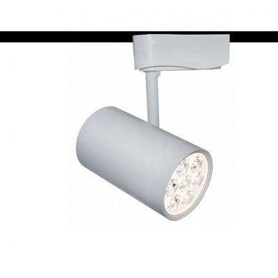 Светильник трековый Arte lamp A6107PL-1WH Track lightsСветильники для трека<br><br><br>Тип лампы: LED<br>MAX мощность ламп, Вт: 7<br>Длина, мм: 72<br>Высота, мм: 200<br>Цвет арматуры: белый