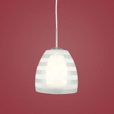 Eglo FARGO 88853 Светильник подвеснойОдиночные<br>Австрийское качество модели светильника Eglo 88853 не оставит равнодушным каждого купившего! Закаленное стекло (пр-во Чехия) c нанесенным узором, дополнительный внутренний рассеивющий плафон. Основание сталь. Класс изоляции 2 (двойная изоляция до лампы), IP 20, освещенность 806 lm ,Н=1100D=205,1X60W,E27.<br><br>S освещ. до, м2: 4<br>Тип лампы: накаливания / энергосбережения / LED-светодиодная<br>Тип цоколя: E27<br>Цвет арматуры: серый<br>Количество ламп: 1<br>Диаметр, мм мм: 205<br>Размеры основания, мм: 0<br>Высота, мм: 1100<br>Оттенок (цвет): белый, прозрачный<br>MAX мощность ламп, Вт: 2<br>Общая мощность, Вт: 1X60W