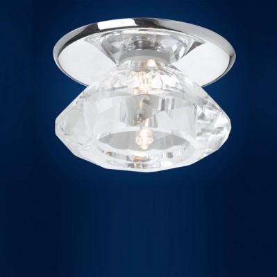 Eglo LUXY 88966 Встраиваемые и накладные светильникиКруглые<br>Австрийское качество модели светильника Eglo 88966 не оставит равнодушным каждого купившего! Стальной хромированный корпус, закаленное стекло, Класс изоляции 2 (двойная изоляция), IP 20, Экологически безопасные технологии. Освещенность 225 lm , D=80, H=45, ЕТ=40, 1X40W(G9).<br><br>S освещ. до, м2: 2<br>Тип лампы: галогенная<br>Тип цоколя: G4<br>Количество ламп: 1<br>MAX мощность ламп, Вт: 29<br>Диаметр, мм мм: 80<br>Размеры основания, мм: 0<br>Диаметр врезного отверстия, мм: 40<br>Высота, мм: 45<br>Оттенок (цвет): прозрачный<br>Цвет арматуры: серебристый<br>Общая мощность, Вт: 1X20W