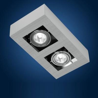Eglo LOKE 89076 СпотыКарданные<br>Австрийское качество модели светильника Eglo 89076 не оставит равнодушным каждого купившего! Стальной никель-матовый корпус, Класс изоляции 2 (двойная изоляция), IP 20, Экологически безопасные технологии. Освещенность 1020 lm , 250х140.<br><br>S освещ. до, м2: 3 - 4<br>Тип лампы: светодиод<br>Тип цоколя: GU10<br>Количество ламп: 2<br>Ширина, мм: 140<br>MAX мощность ламп, Вт: 2<br>Размеры основания, мм: 0<br>Длина, мм: 250<br>Расстояние от стены, мм: 85<br>Цвет арматуры: алюминий чесаный, хром, черный<br>Общая мощность, Вт: 2X35W
