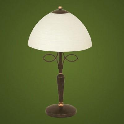 Настольная лампа Eglo 89136 коричневыйКлассические<br>Австрийское качество модели светильника Eglo 89136 не оставит равнодушным каждого купившего! Стальной корпус (античный коричневый), Матовое закаленное фактурное стекло (пр-во Чехия), Класс изоляции 2 (двойная изоляция), IP 20, освещенность 806 lm ,Н=440D=260,1X60W,E14.<br><br>S освещ. до, м2: 4<br>Тип лампы: накал-я - энергосбер-я<br>Тип цоколя: E14<br>Количество ламп: 1<br>MAX мощность ламп, Вт: 2<br>Диаметр, мм мм: 260<br>Размеры основания, мм: 130<br>Высота, мм: 440<br>Оттенок (цвет): шампань<br>Цвет арматуры: коричневый<br>Общая мощность, Вт: 1X60W