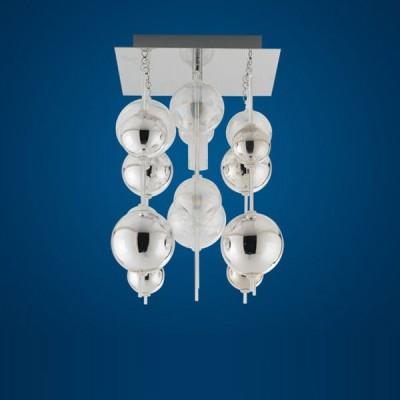 Светильник Eglo 89157 хром Morfeoнакладные точечные светильники<br>Дополнительно рекомендуем посмотреть другие хрустальные люстры и светильники из данной серии. Модель - Светильник Eglo 89157 в хроме Morfeo замечательно впишется в задуманный Вами интерьер зала, гостиной или спальни. Купите хрустальную люстру уже сегодня и Вы поймете превосходство светильников перед другими направлениями освещения. Основное превосходство хрусталя - это отражение и преломление света во всем пространстве, а отсутствие абажуров не съест получаемый световой поток от горящих ламп!<br><br>Установка на натяжной потолок: Да<br>S освещ. до, м2: 2<br>Крепление: Планка<br>Тип лампы: галогенная / LED-светодиодная<br>Тип цоколя: G9<br>Цвет арматуры: серебристый<br>Количество ламп: 1<br>Ширина, мм: 210<br>Высота, мм: 320<br>MAX мощность ламп, Вт: 40