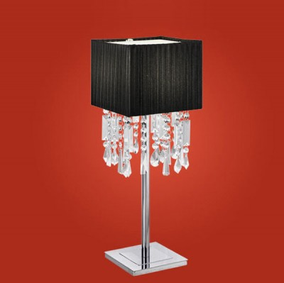 Настольная лампа Eglo 89179 хромС абажуром<br>Настольная лампа – это не просто источник дополнительного освещения, но и оригинальный элемент декора. Его можно установить в спальне, гостиной, кабинете и других комнатах. Интернет-магазин «Светодом» предлагает настольные лампы разных стилей по доступным ценам. Благодаря большому ассортименту Вы обязательно найдете в нашем каталоге именно ту модель, которую искали.   Настольная лампа Eglo 89179 – прекрасный вариант для завершения интерьера. Ее можно включить одновременно с люстрой для более яркого освещения или без нее для создания уютной атмосферы, настраивающей на отдых.   Купить настольную лампу Eglo 89179 Вы можете с помощью виртуальной «Корзины» или по контактным номерам, указанным на сайте.<br><br>S освещ. до, м2: 6<br>Тип лампы: накал-я - энергосбер-я<br>Тип цоколя: E27<br>Количество ламп: 1<br>Ширина, мм: 152/200<br>MAX мощность ламп, Вт: 100<br>Высота, мм: 560<br>Цвет арматуры: серебристый