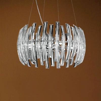 Люстра Eglo 89203 хром DrifterПодвесные<br>Австрийское качество модели светильника Eglo 89203 не оставит равнодушным каждого купившего! Кристаллы (хрусталь Пр-во Египет Asfour), Хромированное основание, Класс изоляции 2 (плоская вилка, двойная изоляция от вилки до лампы), IP 20, освещенность 4230 lm,Н=1100D=550,9X33W,G9.<br><br>Установка на натяжной потолок: Да<br>S освещ. до, м2: 15<br>Крепление: Планка<br>Тип лампы: галогенная / LED-светодиодная<br>Тип цоколя: G9<br>Количество ламп: 9<br>MAX мощность ламп, Вт: 33<br>Диаметр, мм мм: 550<br>Размеры основания, мм: 0<br>Высота, мм: 1100<br>Оттенок (цвет): прозрачный<br>Цвет арматуры: серебристый<br>Общая мощность, Вт: 9X33W