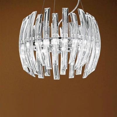 Люстра Eglo 89205 хром DrifterПодвесные<br>Австрийское качество модели светильника Eglo 89205 не оставит равнодушным каждого купившего! Кристаллы (хрусталь Пр-во Египет Asfour), Хромированное основание, Класс изоляции 2 (плоская вилка, двойная изоляция от вилки до лампы), IP 20, освещенность 2820 lm,Н=1100D=410,6X33W,G9.<br><br>Установка на натяжной потолок: Да<br>S освещ. до, м2: 10<br>Крепление: Планка<br>Тип лампы: галогенная / LED-светодиодная<br>Тип цоколя: G9<br>Цвет арматуры: серебристый<br>Количество ламп: 6<br>Диаметр, мм мм: 410<br>Размеры основания, мм: 0<br>Высота, мм: 1100<br>Оттенок (цвет): прозрачный серебристый<br>MAX мощность ламп, Вт: 33<br>Общая мощность, Вт: 6X33W
