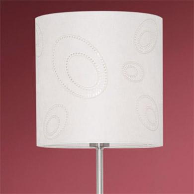 Торшер Eglo 89217 никель IndoС абажуром<br>Австрийское качество модели светильника Eglo 89217 не оставит равнодушным каждого купившего! Никелированный корпус, с выключателем, Текстильный (микрофибра) абажур со специальной пропиткой, легко ухаживать, Класс изоляции 2 (двойная изоляция), IP 20, освещенность 806 lm. ,Н=1530D=280,1X100W,E27.<br><br>S освещ. до, м2: 6<br>Тип лампы: накаливания / энергосбережения / LED-светодиодная<br>Тип цоколя: E27<br>Цвет арматуры: серый<br>Количество ламп: 1<br>Диаметр, мм мм: 280<br>Размеры основания, мм: 250<br>Высота, мм: 1530<br>Оттенок (цвет): бежевый<br>MAX мощность ламп, Вт: 2<br>Общая мощность, Вт: 1X60W