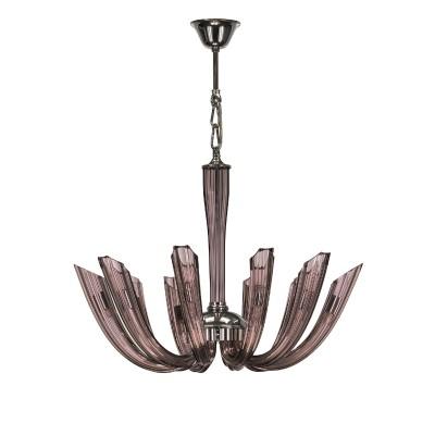 895107 (MD8158-10) Люстра TROFEO LED SMOKYПодвесные<br><br><br>Тип лампы: галогенная/LED<br>Тип цоколя: G9<br>Количество ламп: 10<br>Диаметр, мм мм: 600<br>Высота, мм: 670 - 1550