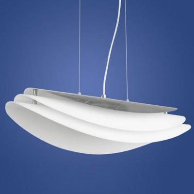 Eglo KIM 3 89549 Светильник подвеснойодиночные подвесные светильники<br>Австрийское качество модели светильника Eglo 89549 не оставит равнодушным каждого купившего! Основание сталь с защитно/декративным покрытием серого цвета. Класс изоляции 2 (двойная изоляция до лампы), IP 20, освещенность 2400 lm ,L=650B=215Н=1100,2X22W,E27.<br><br>S освещ. до, м2: 3<br>Тип лампы: энергосбережения / LED-светодиодная<br>Тип цоколя: E27<br>Цвет арматуры: черный<br>Количество ламп: 2<br>Ширина, мм: 650<br>Высота, мм: 1100<br>MAX мощность ламп, Вт: 23