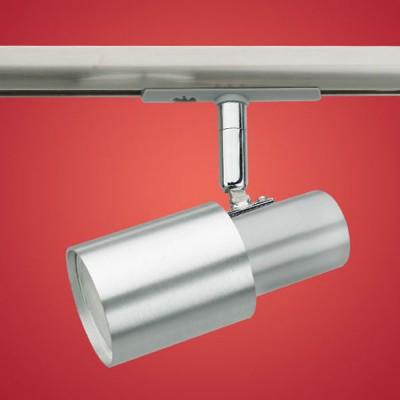 Eglo Line 89806 ПодсветкаСветильники для трека<br><br><br>S освещ. до, м2: 0 - 1<br>Тип лампы: галогенная<br>Тип цоколя: GU10<br>Количество ламп: 1<br>Ширина, мм: 120<br>MAX мощность ламп, Вт: 9W<br>Высота, мм: 55<br>Цвет арматуры: никель