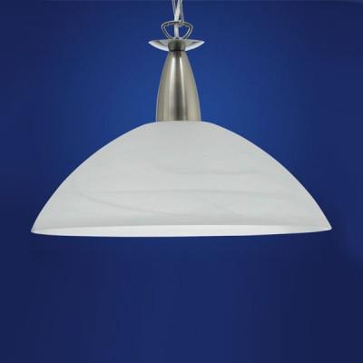 Eglo MILEA 89822 ЛюстрыОдиночные<br>Австрийское качество модели светильника Eglo 89822 не оставит равнодушным каждого купившего! Закаленное алебастровое белое стекло (пр-во Чехия) , основание хромированная сталь с никелевыми матирующими вставками , цепной подвес, Класс изоляции 2 (двойная изоляция до лампы), IP 20, освещенность 1340 lm ,Н=1100D=360,1X100W,E27.<br><br>S освещ. до, м2: 6<br>Тип лампы: накаливания / энергосбережения / LED-светодиодная<br>Тип цоколя: E27<br>Цвет арматуры: серый<br>Количество ламп: 1<br>Диаметр, мм мм: 360<br>Размеры основания, мм: 0<br>Высота, мм: 1100<br>Оттенок (цвет): белый<br>MAX мощность ламп, Вт: 2<br>Общая мощность, Вт: 1X60W