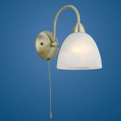Eglo DIONIS 89895 светильник настенный браКлассические<br><br><br>S освещ. до, м2: 2<br>Тип лампы: накаливания / энергосбережения / LED-светодиодная<br>Тип цоколя: E14<br>Количество ламп: 1<br>MAX мощность ламп, Вт: 2<br>Размеры основания, мм: 0<br>Длина, мм: 120<br>Расстояние от стены, мм: 210<br>Высота, мм: 200<br>Оттенок (цвет): белый<br>Цвет арматуры: бронзовый<br>Общая мощность, Вт: 1X40W
