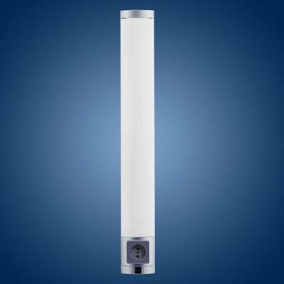 Eglo LIKA 89964 Кухонные светильникиДля кухни<br>Австрийское качество модели светильника Eglo 89964 не оставит равнодушным каждого купившего! Плафон матовый белый пластик, пластиковый хромированный корпус, Класс изоляции 2 (двойная изоляция), выключатель на корпусе, втроенная розетка, IP 20, Экологически безопасные технологии., освещенность 685 lm , L=675B=85А=50,1X13W(G5).<br><br>S освещ. до, м2: 2<br>Тип лампы: люминесцентная<br>Тип цоколя: G5<br>Количество ламп: 1<br>Ширина, мм: 85<br>MAX мощность ламп, Вт: 2<br>Размеры основания, мм: 0<br>Длина, мм: 675<br>Расстояние от стены, мм: 50<br>Оттенок (цвет): белый<br>Цвет арматуры: серебристый<br>Общая мощность, Вт: 1X13W