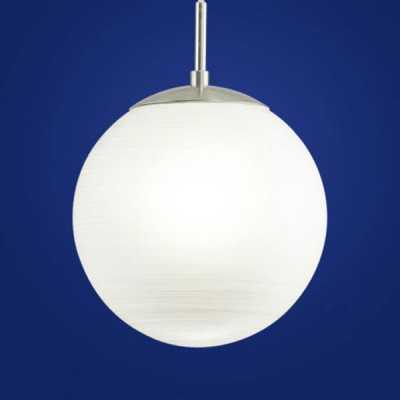 Eglo MILAGRO 90007 Светильник подвеснойОдиночные<br><br><br>S освещ. до, м2: 4<br>Тип товара: Светильник подвесной<br>Скидка, %: 15<br>Тип лампы: накаливания / энергосбережения / LED-светодиодная<br>Тип цоколя: E27<br>Количество ламп: 1<br>MAX мощность ламп, Вт: 2<br>Диаметр, мм мм: 200<br>Размеры основания, мм: 0<br>Высота, мм: 1100<br>Оттенок (цвет): белый<br>Цвет арматуры: серебристый<br>Общая мощность, Вт: 1X60W