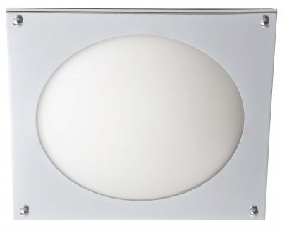 Светильник Brilliant G90012B15Архив<br><br><br>S освещ. до, м2: 2<br>Тип лампы: галогенная / LED-светодиодная<br>Тип цоколя: G9<br>Цвет арматуры: серебристый<br>Количество ламп: 1<br>Ширина, мм: 265<br>Длина, мм: 265<br>Высота, мм: 50<br>MAX мощность ламп, Вт: 40