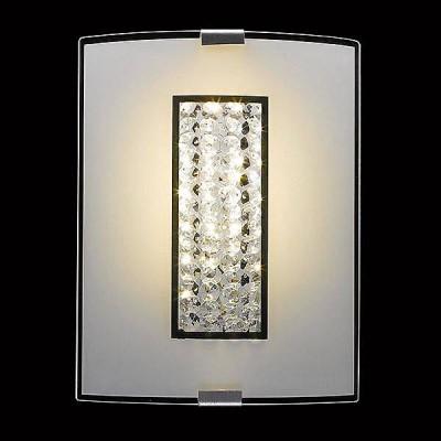 Евросвет 90014/1 хромПрямоугольные<br><br><br>S освещ. до, м2: 2<br>Тип лампы: Накаливания / энергосбережения / светодиодная<br>Тип цоколя: E27<br>Количество ламп: 1<br>Ширина, мм: 200<br>MAX мощность ламп, Вт: 40<br>Расстояние от стены, мм: 75<br>Высота, мм: 260