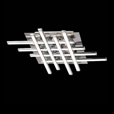 Евросвет 90020/8 хромПотолочные<br>Компания «Светодом» предлагает широкий ассортимент люстр от известных производителей. Представленные в нашем каталоге товары выполнены из современных материалов и обладают отличным качеством. Благодаря широкому ассортименту Вы сможете найти у нас люстру под любой интерьер. Мы предлагаем как классические варианты, так и современные модели, отличающиеся лаконичностью и простотой форм.  Стильная люстра Евросвет 90020/8 станет украшением любого дома. Эта модель от известного производителя не оставит равнодушным ценителей красивых и оригинальных предметов интерьера. Люстра Евросвет 90020/8 обеспечит равномерное распределение света по всей комнате. При выборе обратите внимание на характеристики, позволяющие приобрести наиболее подходящую модель. Купить понравившуюся люстру по доступной цене Вы можете в интернет-магазине «Светодом».<br><br>Установка на натяжной потолок: Да<br>S освещ. до, м2: 38<br>Крепление: Планка<br>Тип лампы: LED<br>Тип цоколя: LED<br>Количество ламп: 8<br>Ширина, мм: 440<br>MAX мощность ламп, Вт: 12<br>Длина, мм: 360<br>Высота, мм: 65<br>Цвет арматуры: серебристый хром