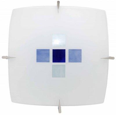 Светильник Brilliant 90047/73 KayaКвадратные<br><br><br>S освещ. до, м2: 4<br>Тип товара: Светильник настенно-потолочный<br>Скидка, %: 19<br>Тип лампы: накаливания / энергосбережения / LED-светодиодная<br>Тип цоколя: E27<br>Количество ламп: 1<br>Ширина, мм: 360<br>MAX мощность ламп, Вт: 60<br>Высота, мм: 360<br>Цвет арматуры: серебристый