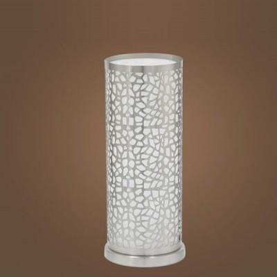 Eglo ALMERA 1 90077 Настольные лампыСовременные<br>Австрийское качество модели светильника Eglo 90077 не оставит равнодушным каждого купившего! Матовое закаленное стекло(пр-во Чехия), Никелированный глянцевый корпус, с выключателем, Класс изоляции 2 (двойная изоляция), IP 20, освещенность 806 lm ,Н=295D=110,1X60W,E27. Купить его можно как добавив в корзину, так и позвонив нам в офис Екатеринбурга, Москвы, Спб, Новосибирска, Омска, Перми, Тюмени или любого другого города России.<br><br>S освещ. до, м2: 4<br>Тип лампы: накал-я - энергосбер-я<br>Тип цоколя: E27<br>Количество ламп: 1<br>MAX мощность ламп, Вт: 2<br>Диаметр, мм мм: 110<br>Размеры основания, мм: 0<br>Высота, мм: 295<br>Оттенок (цвет): белое покрытие<br>Цвет арматуры: никель матовый<br>Общая мощность, Вт: 1X60W