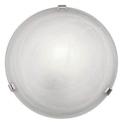 Светильник Brilliant 90103/05 Mauritiusкруглые светильники<br>Настенно-потолочные светильники – это универсальные осветительные варианты, которые подходят для вертикального и горизонтального монтажа. В интернет-магазине «Светодом» Вы можете приобрести подобные модели по выгодной стоимости. В нашем каталоге представлены как бюджетные варианты, так и эксклюзивные изделия от производителей, которые уже давно заслужили доверие дизайнеров и простых покупателей.  Настенно-потолочный светильник Brilliant 90103/05 станет прекрасным дополнением к основному освещению. Благодаря качественному исполнению и применению современных технологий при производстве эта модель будет радовать Вас своим привлекательным внешним видом долгое время. Приобрести настенно-потолочный светильник Brilliant 90103/05 можно, находясь в любой точке России.<br><br>S освещ. до, м2: 4<br>Тип лампы: накаливания / энергосбережения / LED-светодиодная<br>Тип цоколя: E27<br>Цвет арматуры: серебристый<br>Количество ламп: 1<br>Диаметр, мм мм: 300<br>Высота, мм: 90<br>MAX мощность ламп, Вт: 60