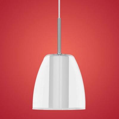 Eglo Vision Line 90114 Подвесной светильникСветильники для трека<br><br><br>S освещ. до, м2: 2 - 3<br>Тип лампы: галогенная<br>Тип цоколя: G9<br>Количество ламп: 1<br>Ширина, мм: 145<br>MAX мощность ламп, Вт: 40W<br>Высота, мм: 1100<br>Цвет арматуры: никель