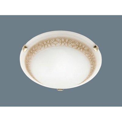 Светильник Brilliant 90166/20 ToulouseКруглые<br><br><br>S освещ. до, м2: 4<br>Тип товара: Светильник настенно-потолочный<br>Тип лампы: накаливания / энергосбережения / LED-светодиодная<br>Тип цоколя: E27<br>Количество ламп: 1<br>MAX мощность ламп, Вт: 60<br>Диаметр, мм мм: 310<br>Выступ, мм: 130<br>Цвет арматуры: коричневый