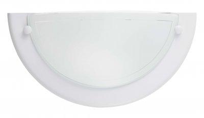 Светильник бра Brilliant 90196/05 MiramarНакладные<br>Зачастую мы ищем идеальное освещение для своего дома и уделяем этому достаточно много времени. Так, например, если нам нужен светильник с количеством ламп - 1 и цвет плафонов должен быть - белый с неокрашенной каймой, а материал плафонов только стекло! То нам, как вариант, подойдет модель - Бра Brilliant 90196/05.<br><br>S освещ. до, м2: 2<br>Тип товара: Светильник настенно-потолочный<br>Тип лампы: накаливания / энергосбережения / LED-светодиодная<br>Тип цоколя: E14<br>Количество ламп: 1<br>Ширина, мм: 310<br>MAX мощность ламп, Вт: 40<br>Высота, мм: 150<br>Цвет арматуры: белый