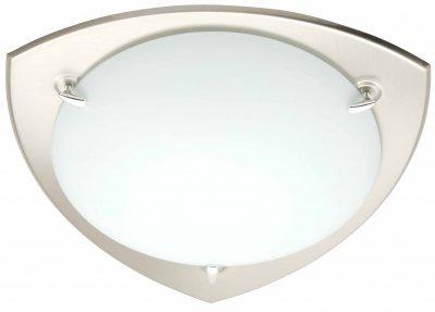 Светильник настенно-потолочный Brilliant 90264/82 DanaДекоративные<br>Зачастую мы ищем идеальное освещение для своего дома и уделяем этому достаточно много времени. Так, например, если нам нужен светильник с количеством ламп - 1 и цвет плафонов должен быть - белый, а материал плафонов только стекло! То нам, как вариант, подойдет модель - лампа настенная или потолочная Brilliant 90264/82.<br><br>S освещ. до, м2: 4<br>Тип товара: Светильник настенно-потолочный<br>Тип лампы: накаливания / энергосбережения / LED-светодиодная<br>Тип цоколя: E27<br>Количество ламп: 1<br>MAX мощность ламп, Вт: 60<br>Диаметр, мм мм: 320<br>Цвет арматуры: серебристый