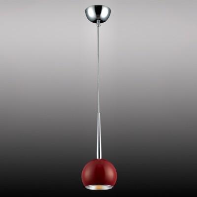 Подвес Lamplandia 9098-1 DEN красныйодиночные подвесные светильники<br>Вид светильника: потолочный<br>Размер: 15 x 15 x 45/100<br>Мощность: 1*E27*60W<br>Материал: Металл, алюминий<br><br>S освещ. до, м2: 3<br>Крепление: потолочный<br>Тип лампы: Накаливания / энергосбережения / светодиодная<br>Тип цоколя: E27<br>Количество ламп: 1<br>Диаметр, мм мм: 150<br>Высота, мм: 450 - 1000<br>MAX мощность ламп, Вт: 60