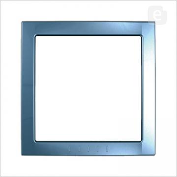Unica Голубой лед Вставка декор. 1-ая MGU4.000.54Вставки Unica<br>Серия Unica дополнена цветными вставками. <br> Вы сами, не разбирая изделия, можете внести изюминку, поменяв цветную вставку.<br><br>Оттенок (цвет): голубой