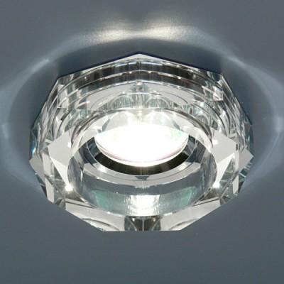Точечный светильник Электростандарт 9120 MR16 SL серебряныйвстраиваемые светильники стекло<br>Лампа: MR16 G5.3 max 50 Вт Диаметр: ? 98 мм Высота внутренней части: ? 18 мм Высота внешней части: ? 27 мм Монтажное отверстие: ? 65 мм Гарантия: 2 года
