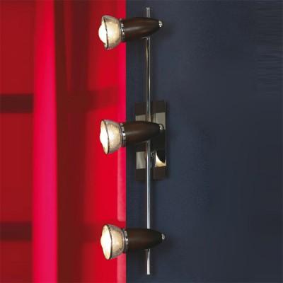 Светильник Lussole LSL-8001-03 FurnariДвойные<br><br><br>S освещ. до, м2: 8<br>Тип товара: Светильник поворотный спот<br>Тип лампы: накал-я - энергосбер-я<br>Тип цоколя: E14cs<br>Количество ламп: 3<br>Ширина, мм: 130<br>MAX мощность ламп, Вт: 40<br>Длина, мм: 560<br>Расстояние от стены, мм: 170<br>Цвет арматуры: серебристый