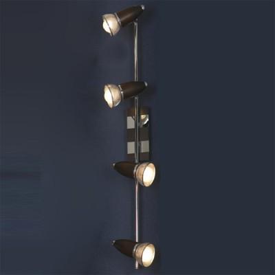 Светильник Lussole LSL-8009-04 FurnariС 4 лампами<br>Светильники-споты – это оригинальные изделия с современным дизайном. Они позволяют не ограничивать свою фантазию при выборе освещения для интерьера. Такие модели обеспечивают достаточно качественный свет. Благодаря компактным размерам Вы можете использовать несколько спотов для одного помещения.  Интернет-магазин «Светодом» предлагает необычный светильник-спот Lussole LSL-8009-04 по привлекательной цене. Эта модель станет отличным дополнением к люстре, выполненной в том же стиле. Перед оформлением заказа изучите характеристики изделия.  Купить светильник-спот Lussole LSL-8009-04 в нашем онлайн-магазине Вы можете либо с помощью формы на сайте, либо по указанным выше телефонам. Обратите внимание, что у нас склады не только в Москве и Екатеринбурге, но и других городах России.<br><br>S освещ. до, м2: 11<br>Тип лампы: накал-я - энергосбер-я<br>Тип цоколя: E14cs<br>Количество ламп: 4<br>Ширина, мм: 130<br>MAX мощность ламп, Вт: 40<br>Длина, мм: 800<br>Расстояние от стены, мм: 170<br>Цвет арматуры: серебристый