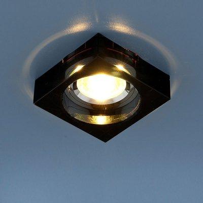Светильник черный Elektrostandart 9171 GR серыйКвадратные<br>Встраиваемые светильники – популярное осветительное оборудование, которое можно использовать в качестве основного источника или в дополнение к люстре. Они позволяют создать нужную атмосферу атмосферу и привнести в интерьер уют и комфорт.   Интернет-магазин «Светодом» предлагает стильный встраиваемый светильник Электростандарт Elektrostandart 9171 GR серый. Данная модель достаточно универсальна, поэтому подойдет практически под любой интерьер. Перед покупкой не забудьте ознакомиться с техническими параметрами, чтобы узнать тип цоколя, площадь освещения и другие важные характеристики.   Приобрести встраиваемый светильник Электростандарт Elektrostandart 9171 GR серый в нашем онлайн-магазине Вы можете либо с помощью «Корзины», либо по контактным номерам. Мы развозим заказы по Москве, Екатеринбургу и остальным российским городам.<br><br>S освещ. до, м2: 2<br>Тип лампы: галогенная<br>Тип цоколя: gu5.3<br>Ширина, мм: 80<br>MAX мощность ламп, Вт: 50<br>Диаметр врезного отверстия, мм: 65<br>Длина, мм: 80<br>Оттенок (цвет): серебристный<br>Цвет арматуры: серый