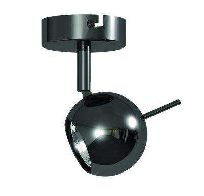 Светильник спот Lamplandia 91823 NaomyОдиночные<br>Спот современного дизайна.основание сделано из черного метала с лаковым покрытием используются лампочки GU 10 11 x 8 x 15 см, 1 х GU10 х 50Вт<br><br>S освещ. до, м2: 3<br>Крепление: настенный<br>Тип лампы: галогенная / LED-светодиодная<br>Тип цоколя: G9<br>Количество ламп: 1<br>Ширина, мм: 80<br>MAX мощность ламп, Вт: 50<br>Длина, мм: 110<br>Высота, мм: 150