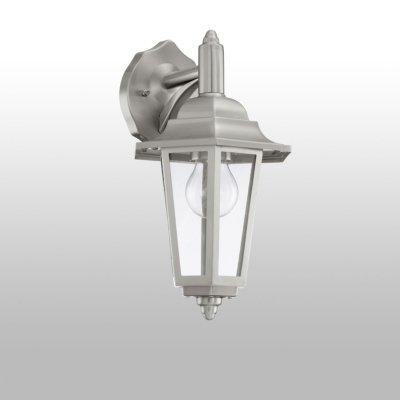 Eglo Cerva 92152 светильник уличныйНастенные<br>Обеспечение качественного уличного освещения – важная задача для владельцев коттеджей. Компания «Светодом» предлагает современные светильники, которые порадуют Вас отличным исполнением. В нашем каталоге представлена продукция известных производителей, пользующихся популярностью благодаря высокому качеству выпускаемых товаров.   Уличный светильник Eglo 92152 не просто обеспечит качественное освещение, но и станет украшением Вашего участка. Модель выполнена из современных материалов и имеет влагозащитный корпус, благодаря которому ей не страшны осадки.   Купить уличный светильник Eglo 92152, представленный в нашем каталоге, можно с помощью онлайн-формы для заказа. Чтобы задать имеющиеся вопросы, звоните нам по указанным телефонам.<br><br>Тип лампы: накаливания / энергосбережения / LED-светодиодная<br>Тип цоколя: E27<br>Ширина, мм: 175<br>Расстояние от стены, мм: 205<br>Высота, мм: 340