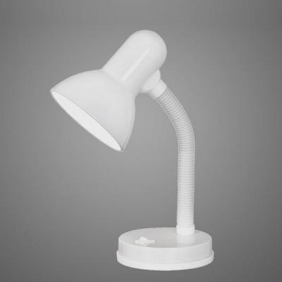 Eglo BASIC 9229 Офисная настольная лампаОфисные<br>Настольная лампа – это не просто источник дополнительного освещения, но и оригинальный элемент декора. Его можно установить в спальне, гостиной, кабинете и других комнатах. Интернет-магазин «Светодом» предлагает настольные лампы разных стилей по доступным ценам. Благодаря большому ассортименту Вы обязательно найдете в нашем каталоге именно ту модель, которую искали.   Настольная лампа Eglo 9229 – прекрасный вариант для завершения интерьера. Ее можно включить одновременно с люстрой для более яркого освещения или без нее для создания уютной атмосферы, настраивающей на отдых.   Купить настольную лампу Eglo 9229 Вы можете с помощью виртуальной «Корзины» или по контактным номерам, указанным на сайте.<br><br>S освещ. до, м2: 4<br>Тип лампы: накал-я - энергосбер-я<br>Тип цоколя: E27<br>Цвет арматуры: белый<br>Количество ламп: 1<br>Размеры основания, мм: 125<br>Высота, мм: 300<br>MAX мощность ламп, Вт: 60<br>Общая мощность, Вт: 1X40W