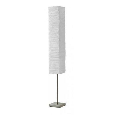 Торшер Brilliant 92603/75 NervaИз бумаги<br>Зачастую мы ищем идеальное освещение для своего дома и уделяем этому достаточно много времени. Так, например, если нам нужен светильник с количеством ламп - 2 и цвет плафонов должен быть - белый, а материал плафонов только бумага! То нам, как вариант, подойдет модель - Торшер Brilliant 92603/75.<br><br>S освещ. до, м2: 5<br>Тип лампы: накаливания / энергосбережения / LED-светодиодная<br>Тип цоколя: E14<br>Цвет арматуры: серебристый<br>Количество ламп: 2<br>Ширина, мм: 185<br>Выступ, мм: 185<br>Высота, мм: 1460<br>MAX мощность ламп, Вт: 40