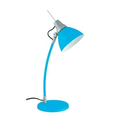 Лампа настольная Brilliant 92604/03 Jennyофисные настольные лампы<br>Настольная лампа – это не просто источник дополнительного освещения, но и оригинальный элемент декора. Его можно установить в спальне, гостиной, кабинете и других комнатах. Интернет-магазин «Светодом» предлагает настольные лампы разных стилей по доступным ценам. Благодаря большому ассортименту Вы обязательно найдете в нашем каталоге именно ту модель, которую искали.   Настольная лампа Brilliant 92604/03 – прекрасный вариант для завершения интерьера. Ее можно включить одновременно с люстрой для более яркого освещения или без нее для создания уютной атмосферы, настраивающей на отдых.   Купить настольную лампу Brilliant 92604/03 Вы можете с помощью виртуальной «Корзины» или по контактным номерам, указанным на сайте.<br><br>Тип лампы: Накаливания / энергосбережения / светодиодная<br>Тип цоколя: E14<br>Цвет арматуры: синий<br>Количество ламп: 1<br>Диаметр, мм мм: 150<br>Высота, мм: 430<br>MAX мощность ламп, Вт: 40