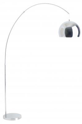 Торшер хай тек Brilliant 92645/15 NereideМеталлические<br>Зачастую мы ищем идеальное освещение для своего дома и уделяем этому достаточно много времени. Так, например, если нам нужен светильник с количеством ламп - 1 и цвет плафонов должен быть - хром, а материал плафонов только металл! То нам, как вариант, подойдет модель - Торшер Brilliant 92645/15. Как вы видите на фото, плафон торшера Brilliant 92645/15 имеет полукруглую форму. Он прикреплен к ножке с помощью небольшого, тонкого троса. Ножка устройства выполнена в виде утонченного, изящно изогнутого стержня. Глядя на этот торшер марки Бриллиант, кажется, что он склонил голову.<br><br>S освещ. до, м2: 6<br>Тип лампы: накаливания / энергосбережения / LED-светодиодная<br>Тип цоколя: E27<br>Количество ламп: 1<br>MAX мощность ламп, Вт: 100<br>Диаметр, мм мм: 300<br>Высота, мм: 1800<br>Цвет арматуры: серебристый