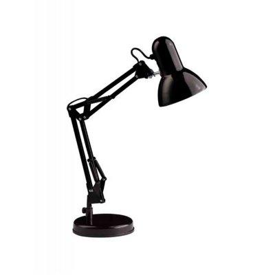 Лампа настольная Brilliant 92706/06 HenryОфисные<br>Зачастую мы ищем идеальное освещение для своего дома и уделяем этому достаточно много времени. Так, например, если нам нужен светильник с количеством ламп - 1 и цвет плафонов должен быть - черный, а материал плафонов только металл! То нам, как вариант, подойдет модель - лампа настольная Brilliant 92706/06.<br><br>S освещ. до, м2: 2<br>Тип лампы: накал-я - энергосбер-я<br>Тип цоколя: E27<br>Количество ламп: 1<br>MAX мощность ламп, Вт: 40<br>Диаметр, мм мм: 130<br>Выступ, мм: 400<br>Высота, мм: 500<br>Цвет арматуры: черный