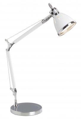 Лампа настольная Brilliant 92708/75 OCTAVIAОфисные<br>Зачастую мы ищем идеальное освещение для своего дома и уделяем этому достаточно много времени. Так, например, если нам нужен светильник с количеством ламп - 1 и цвет плафонов должен быть - белый с каймой, а материал плафонов только металл! То нам, как вариант, подойдет модель - лампа настольная Brilliant 92708/75.<br><br>S освещ. до, м2: 2<br>Тип товара: Настольная лампа<br>Тип лампы: накал-я - энергосбер-я<br>Тип цоколя: E27<br>Количество ламп: 1<br>MAX мощность ламп, Вт: 40<br>Диаметр, мм мм: 210<br>Цвет арматуры: белый